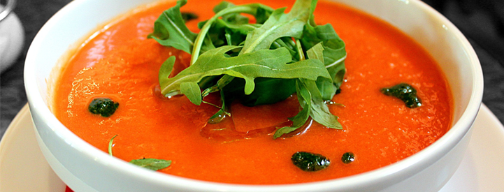 cold tomato soup recipe