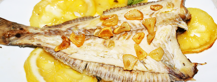 baked sole with lemon