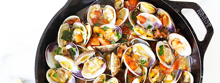 clams with red pepper